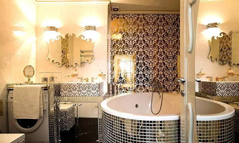 Маленькие ванные комнаты с плиткой мозаикой фото - 2 000 - идеи дизайна ванной комнаты с фото, варианты интерьера ванной на houzz.ru