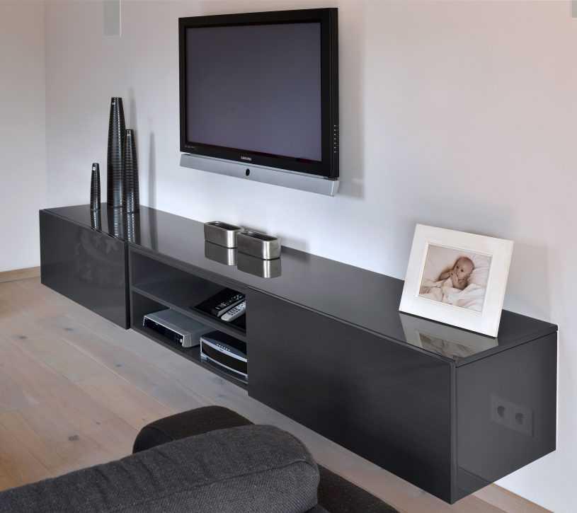 Тумбочки под телевизор в современном стиле - 200+ (фото) идей