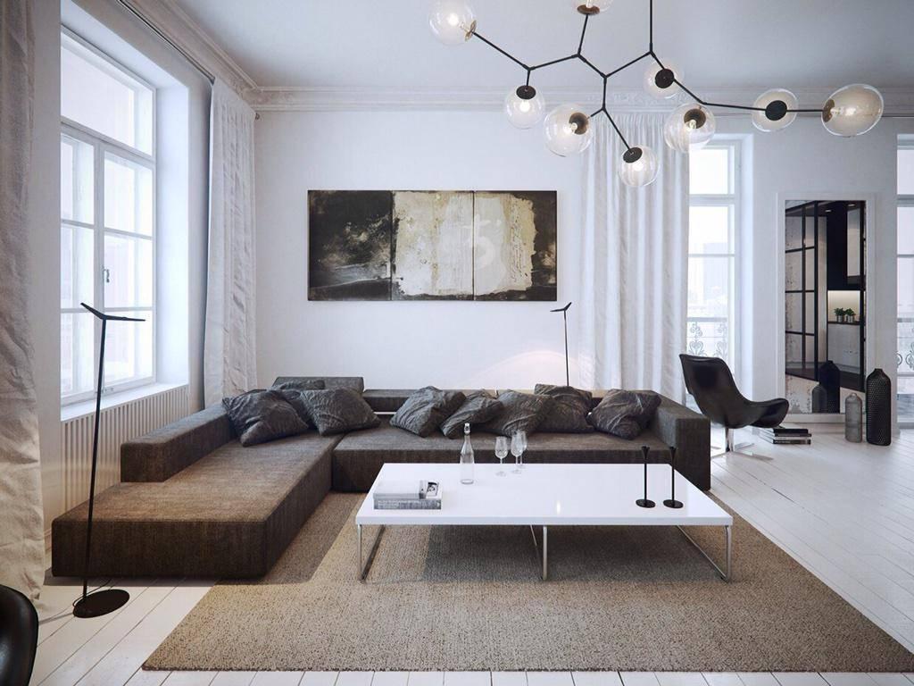 Стиль минимализм в интерьере фото в дизайне 2021, кухня, гостиная, спальня, детская, прихожая, ванная