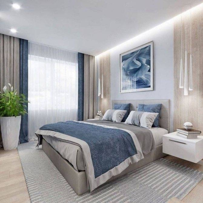 Как сделать удобной спальню 11 кв м: дизайн, освещение и меблировка