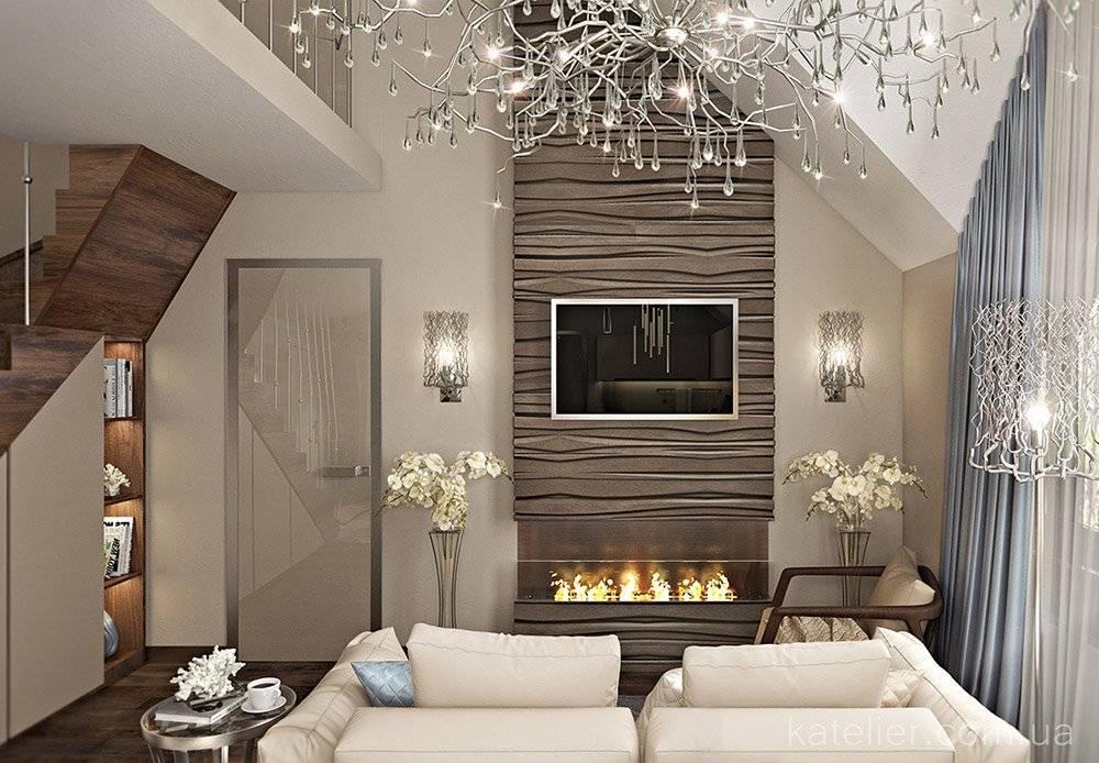 Гостиная в частном доме - правила распределения площади. базовые цвета и яркие акценты в гостиной в частном доме. особенности интерьерных стилей (фото и видео-обзоры)