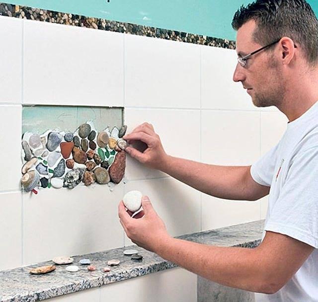 Ванная комната без плитки: чем можно заменить материал, как выбрать альтернативу, видео и фото   дневники ремонта obustroeno.club