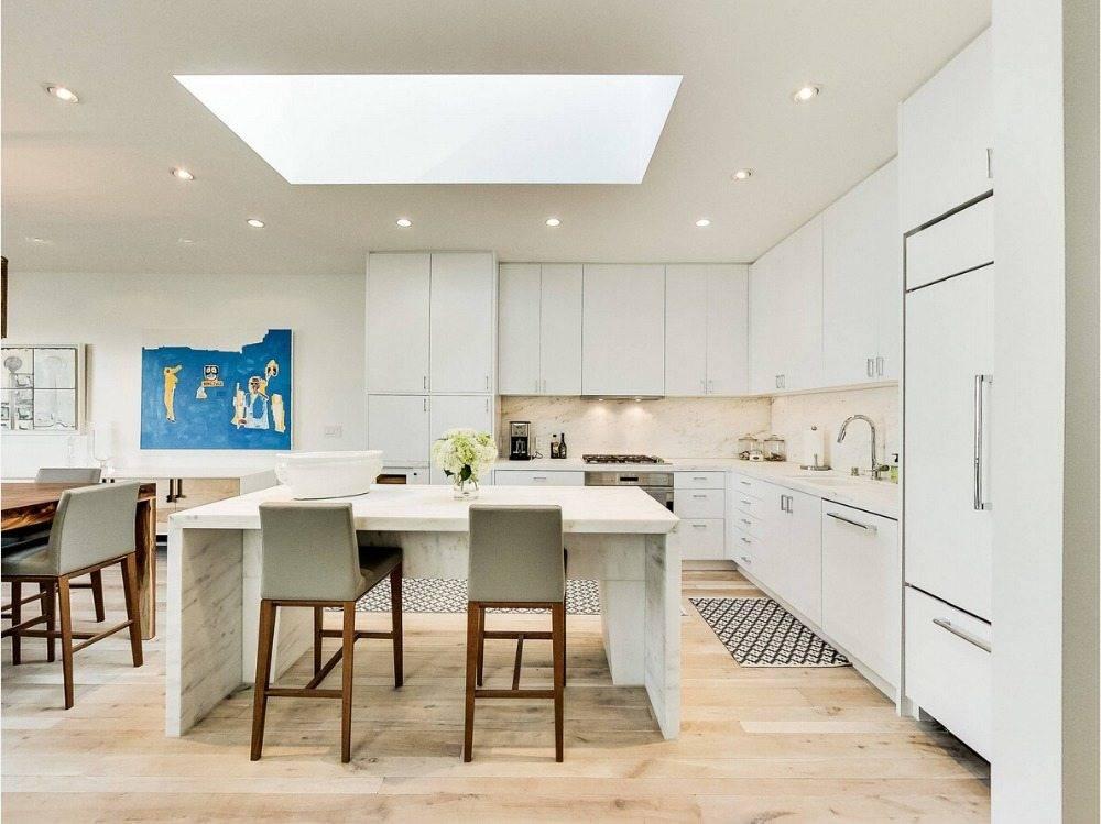 80 примеров угловых кухонь + секреты дизайна и удачной планировки