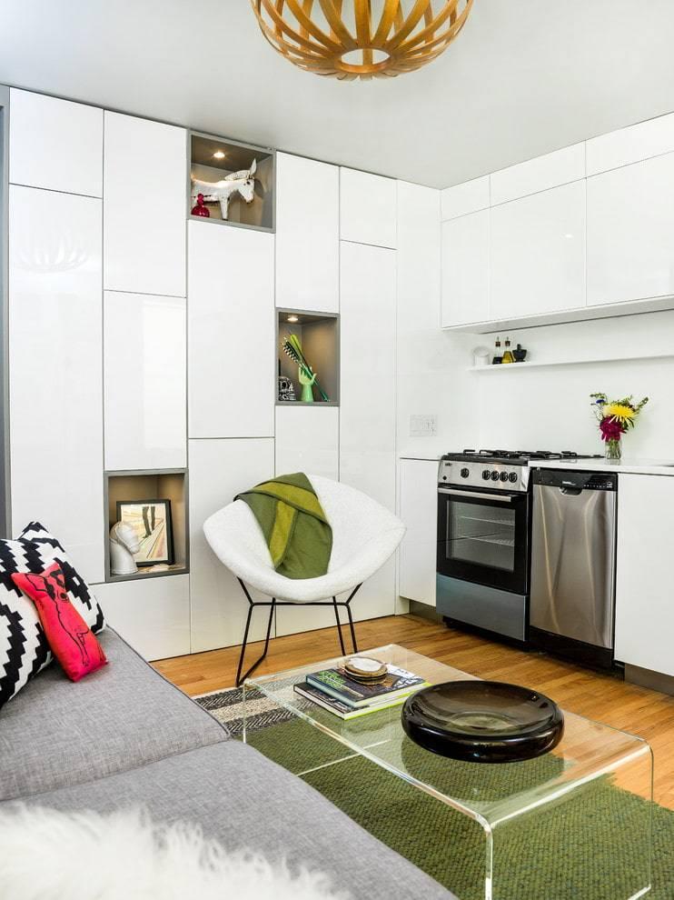 Дизайн маленькой квартиры своими руками: 17 хитростей | 24 фото