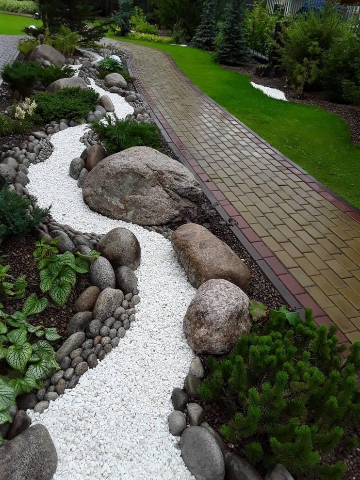 Камни для ландшафтного дизайна +50 фото примеров