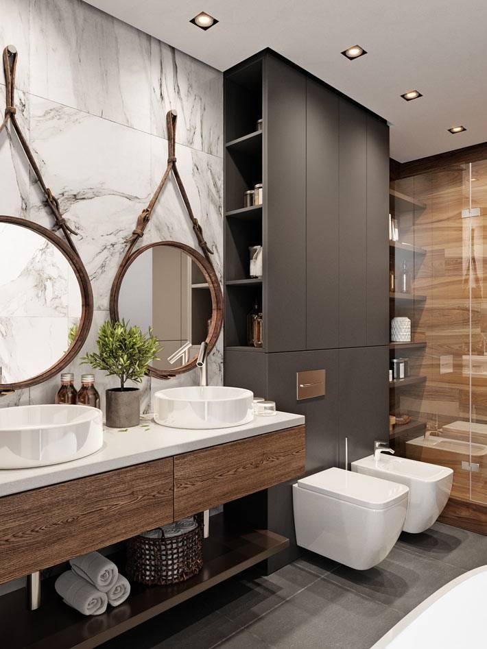 Модные ванные комнаты 2020-2021 года — какие узоры, цвета и тенденции в тренде (+57 фото)