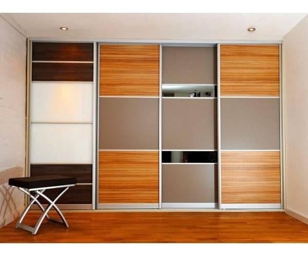 Шкафы купе – общие сведения и советы по выбору