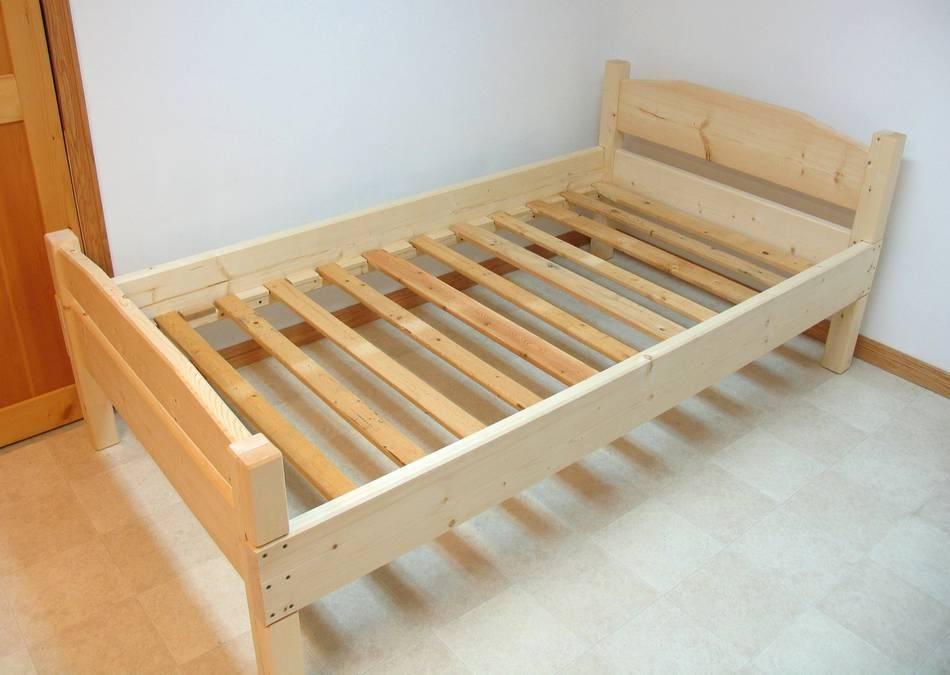 Кровати из дерева своими руками