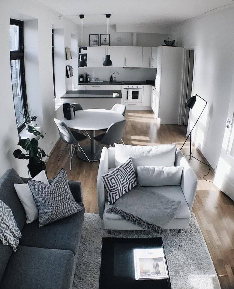 Экономим пространство: 30 свежих идей для стильной и практичной квартиры-студии