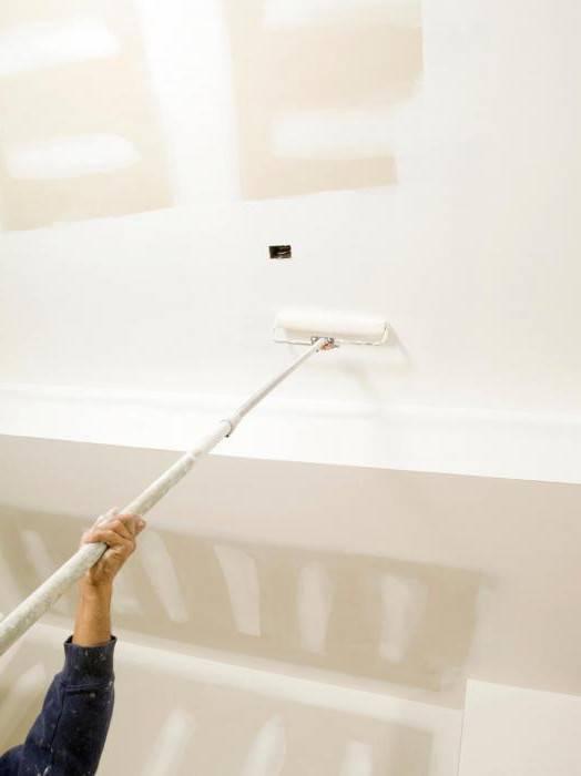 Чем покрасить потолок на кухне - выбор лучшей краски чем покрасить потолок на кухне - выбор лучшей краски