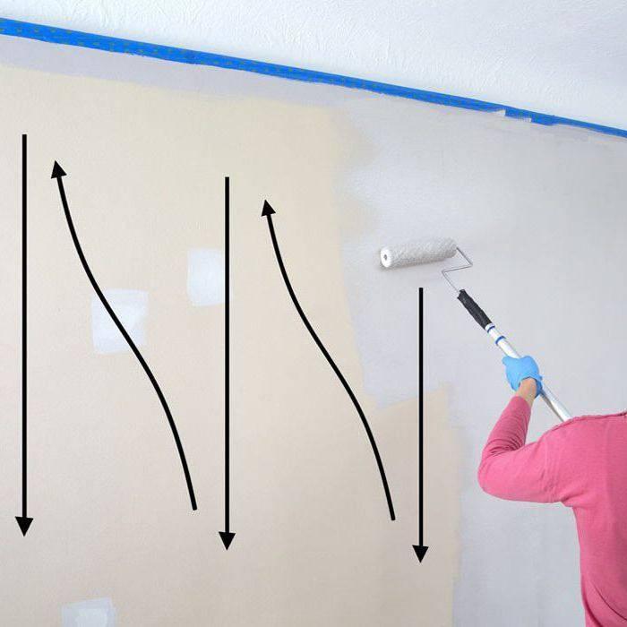 Особенности покраски стен водоэмульсионной краской: описание процесса с фото и видео