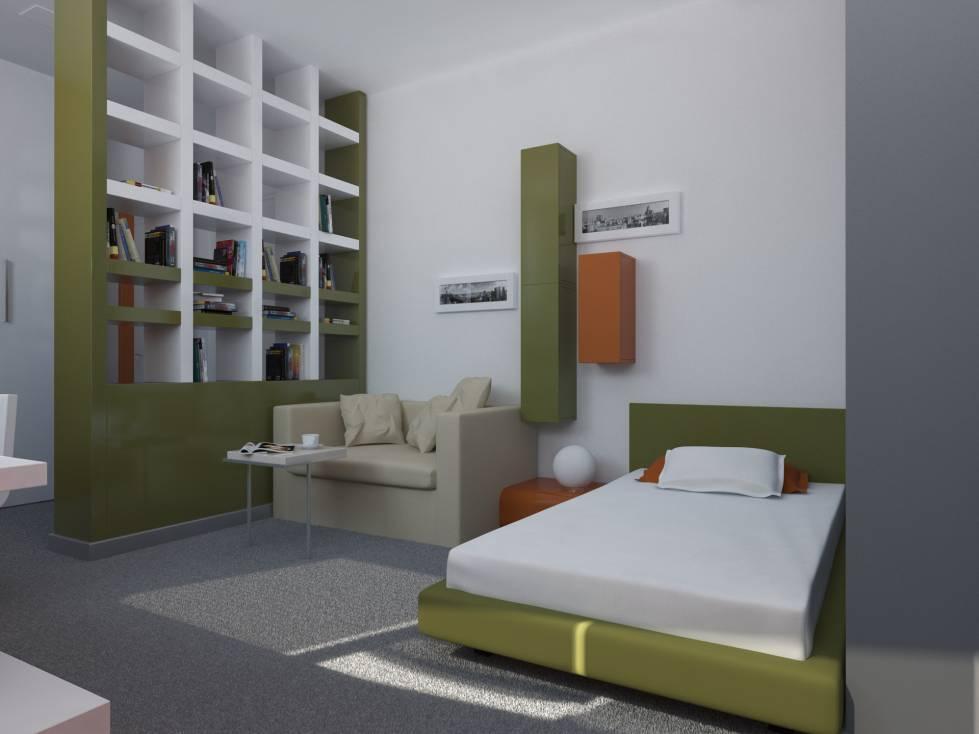 Дизайн комнаты 12 кв м: интерьер маленьких помещений, в общежитии | дневники ремонта obustroeno.club
