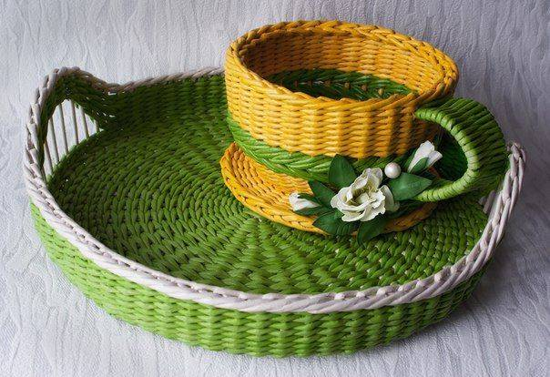 Плетение из газетных трубочек: создаем красивые поделки