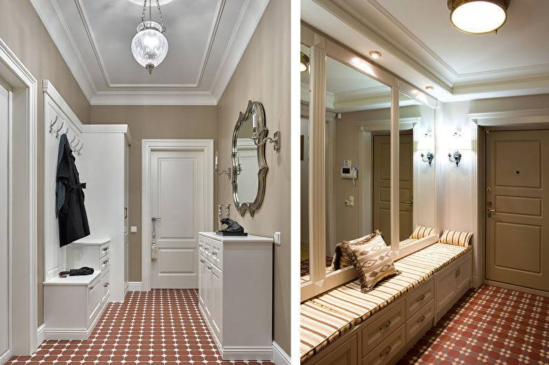 Классический стиль для прихожей комнаты — варианты оформления дизайна