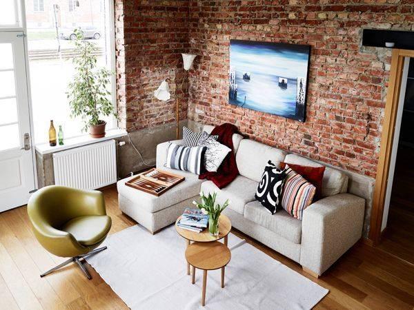 Кирпичная спальня: примеры дизайна и красивой отделки стен (100 фото оригинальных идей и сочетаний)