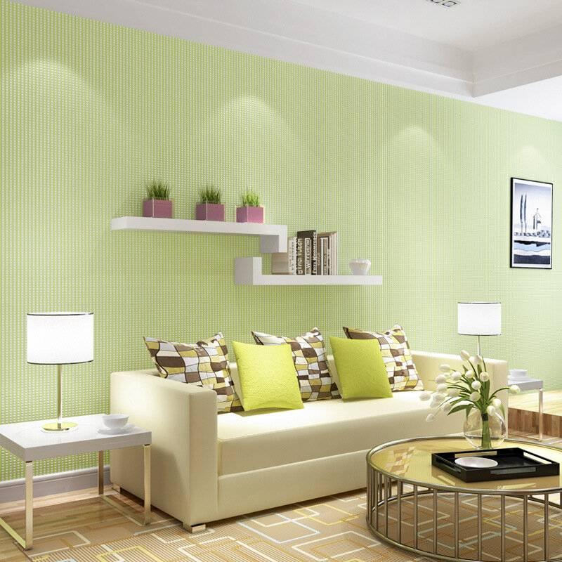 Правильные сочетания цветов при оформлении стен в гостиных комнатах