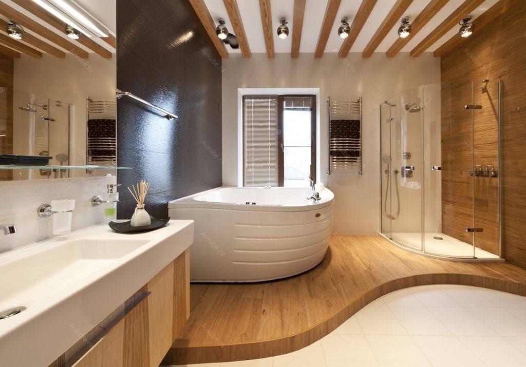 Лучшие проекты ванных комнат с туалетом