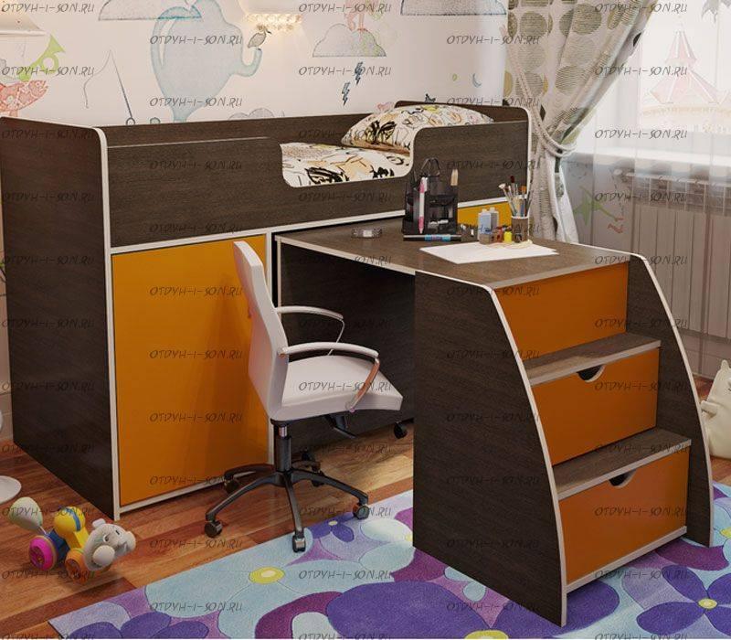 Детская кровать-чердак — виды, советы по эксплуатации. топ-130 фото красивых моделей с интересным дизайном