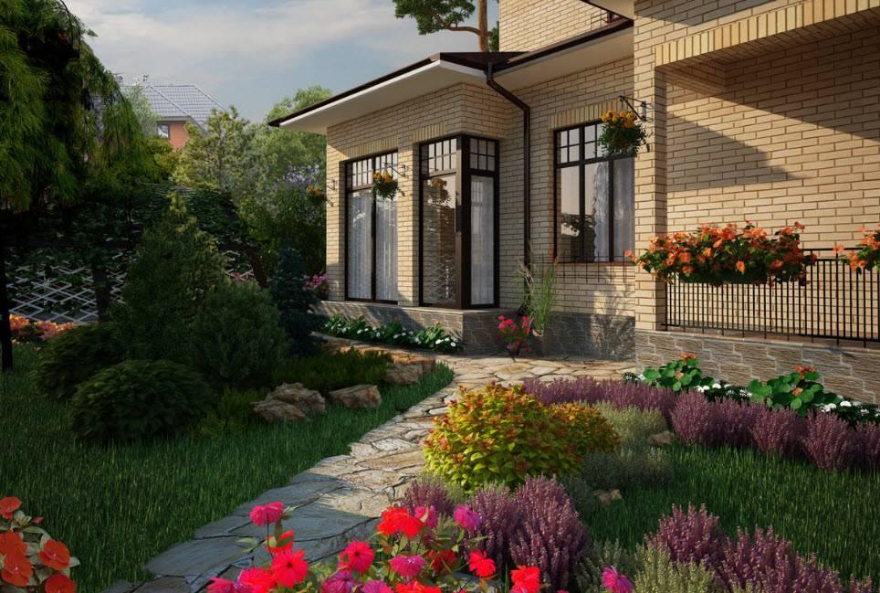 Ландшафтный дизайн территории частного дома - пошаговое руководство