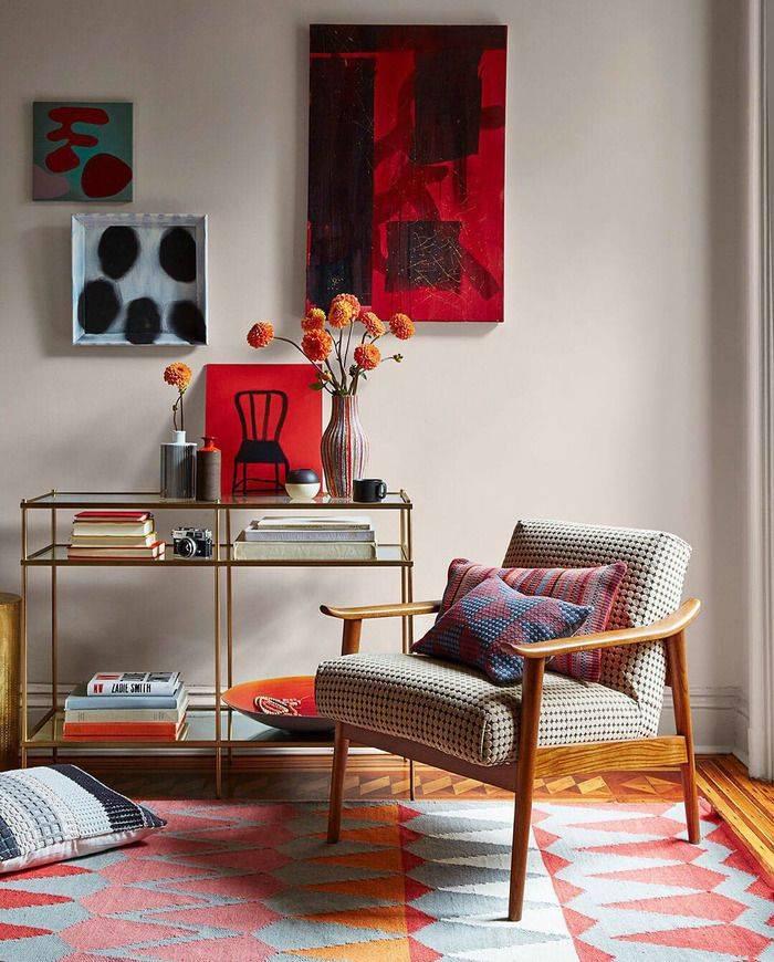 Стиль 60-70 годов снова в моде в дизайне интерьеров