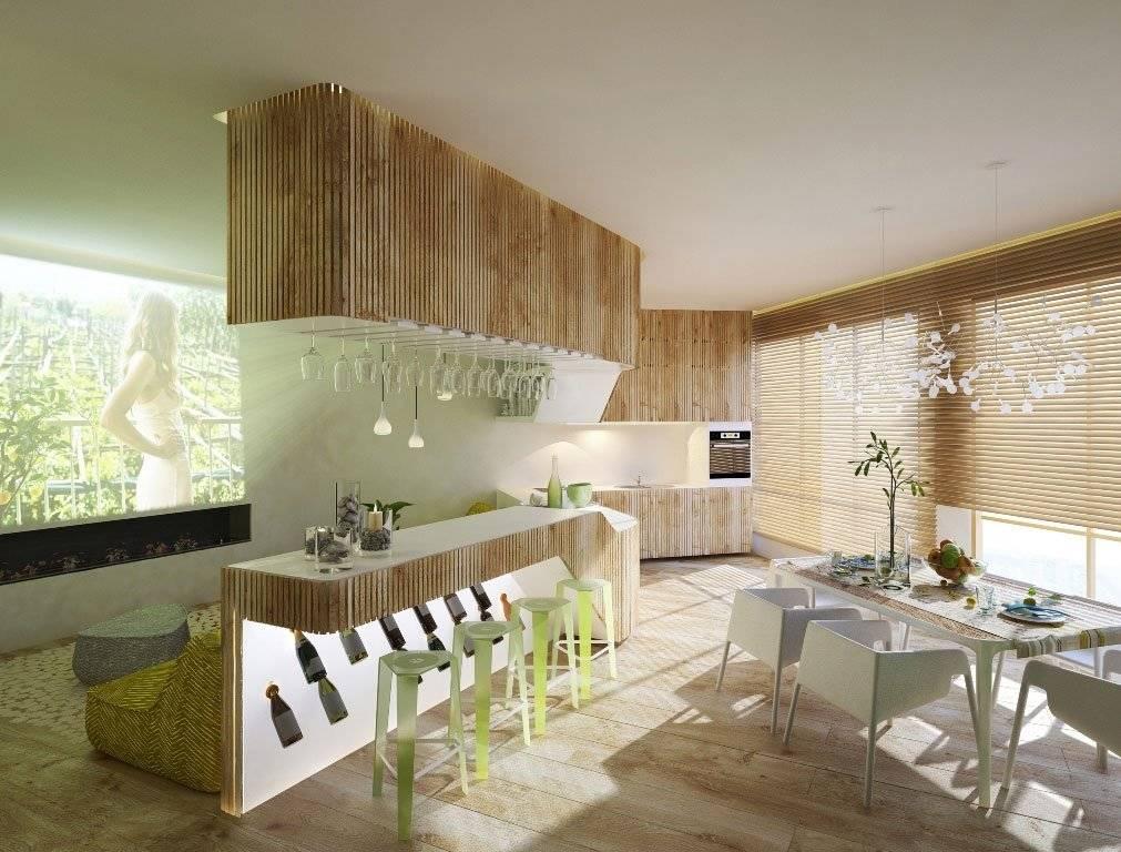 Интерьер в экостиле - мебель, декор и характерные черты экостиля