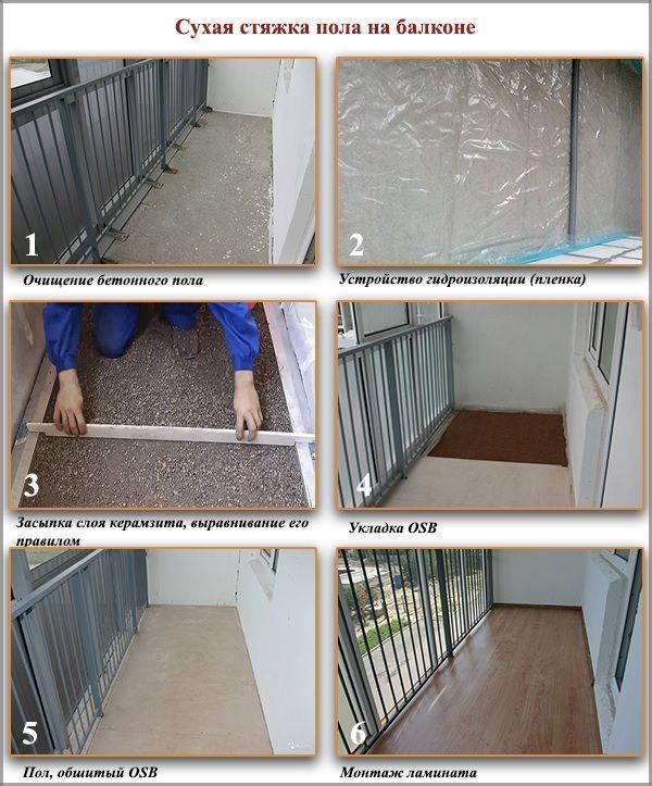 Как сделать пол на балконе своими руками: допустимые варианты | строй советы