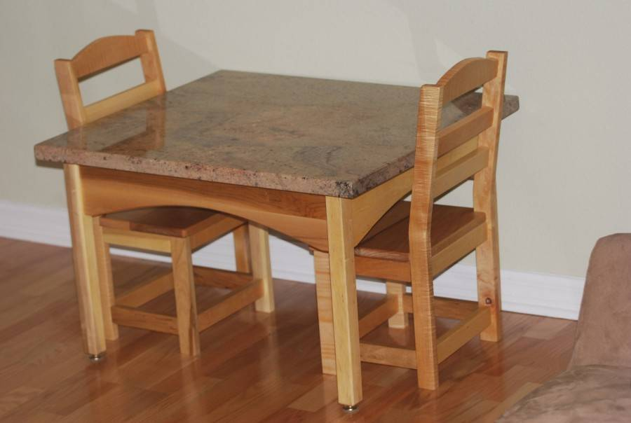 Примеры выбора деревянных стульев в детскую комнату