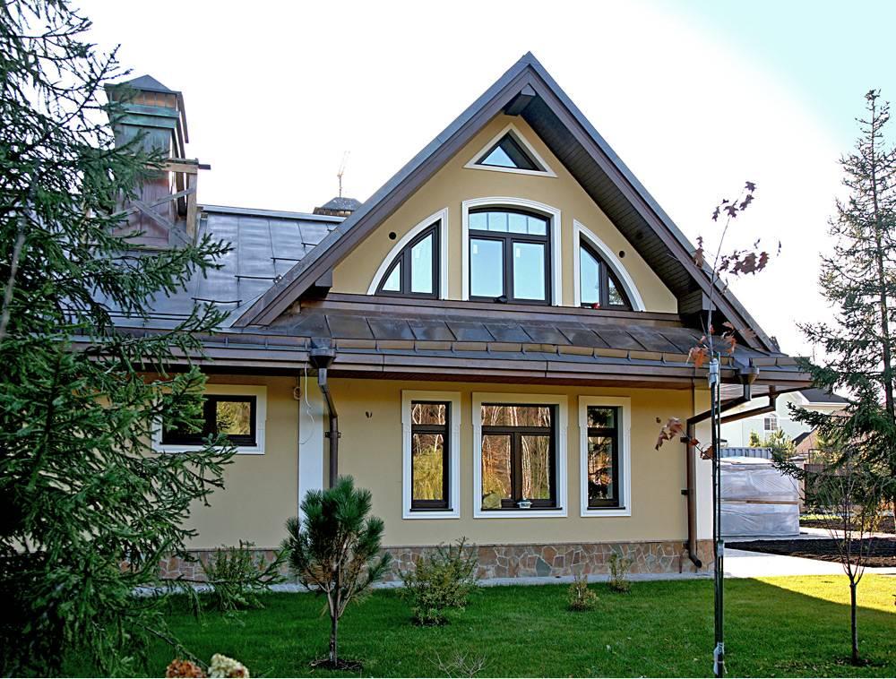 Дизайн фасадов частных домов