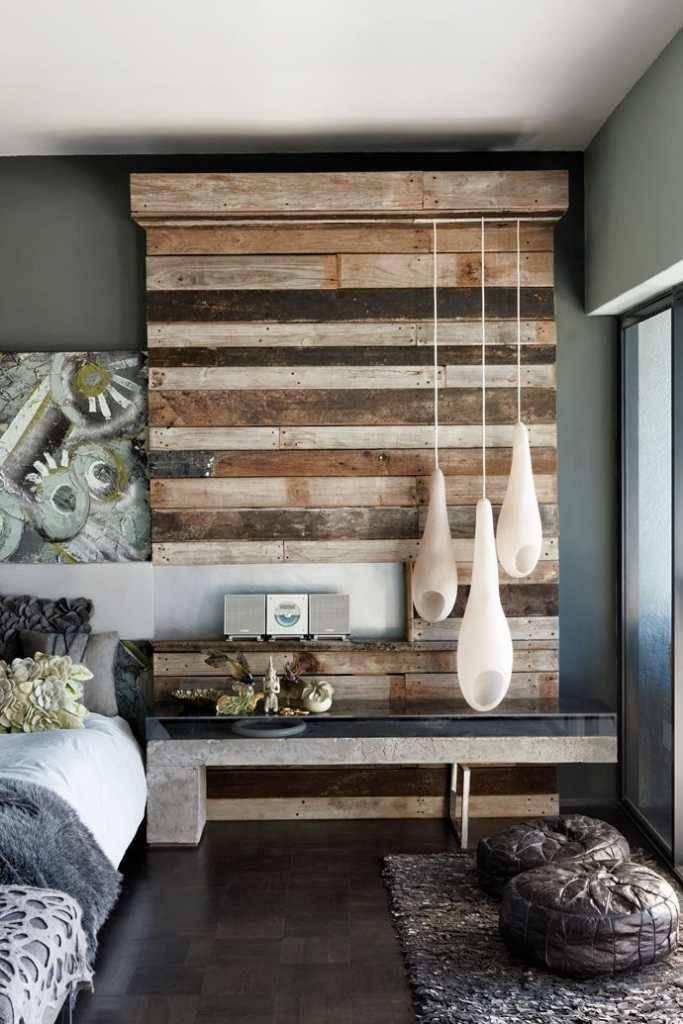 Деревянная стена в гостиной: новинки дизайна, создание современного стиля оформления (150 фото)