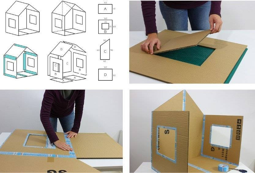 Домик из бумаги: топ-130 фото и руководства по изготовлению бумажного домика. инструкции для детей и быстрые схемы работы