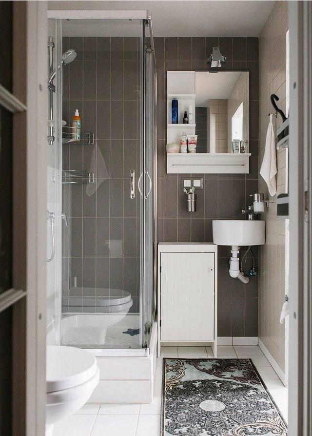 Дизайн ванной с душевой: обзор лучших идей и советы по оформлению (80 фото)