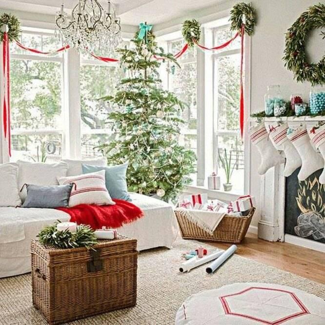 Сказочный новогодний декор дома 2020 — топовые идеи декора дома на 100+ фото