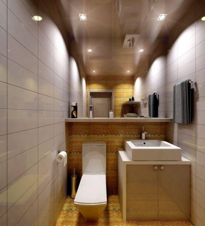 Натяжной потолок в ванной: основные плюсы и минусы, а также нюансы выбора