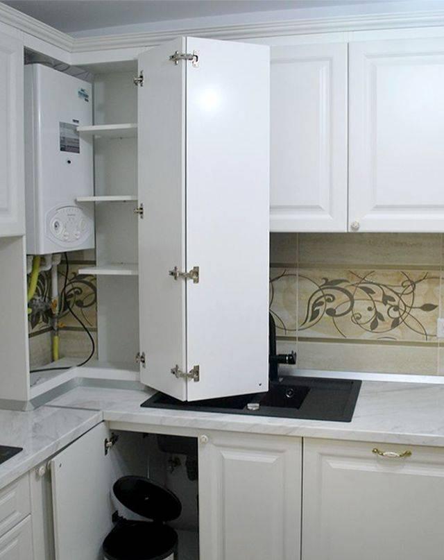 Котел на кухне — топ-150 фото современных идей оформления. инструкции как установить и спрятать котел своими руками