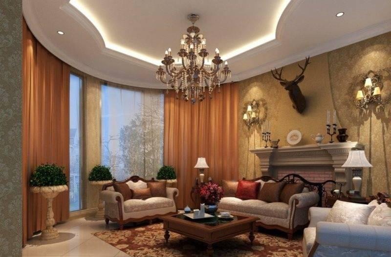 Обои в зал (200 фото): красивые новинки и идеи дизайна интерьера