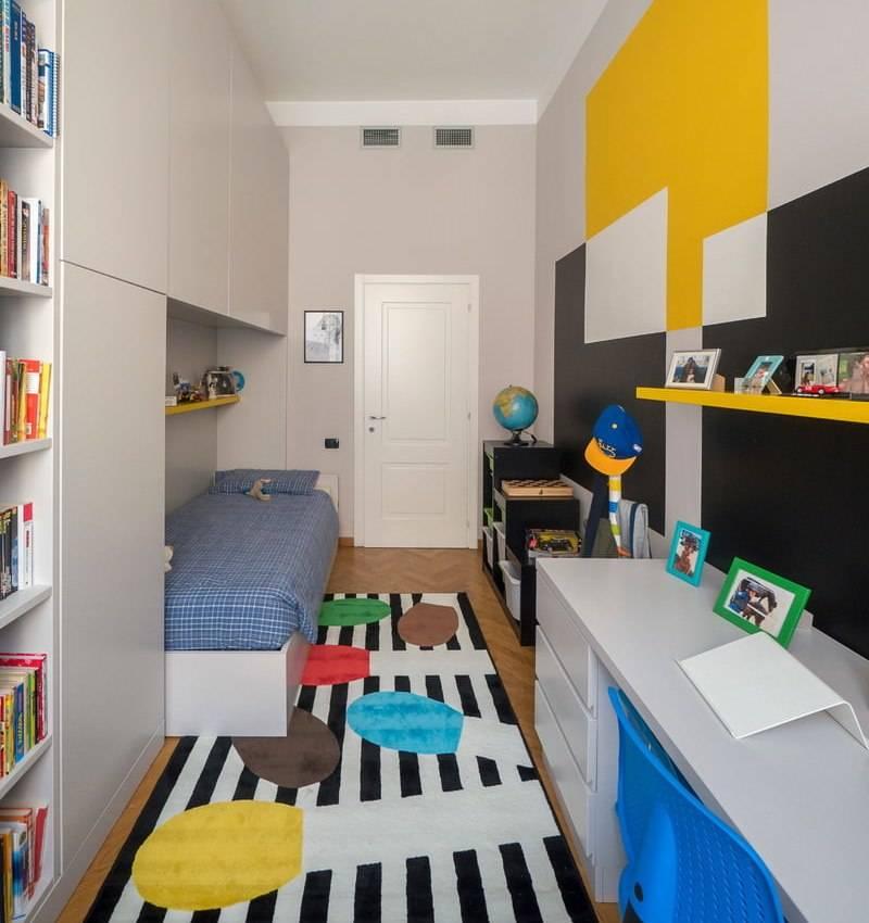 Детская 20 кв. м.: дизайн интерьера с примерами оформления (130 фото)варианты планировки и дизайна