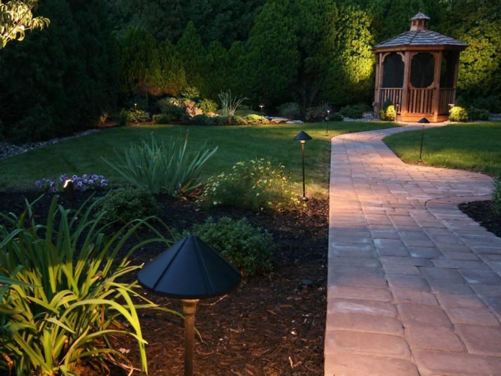 Освещение дачного участка - 155 фото уличного освещения и особенности его применения в ландшафтном дизайне