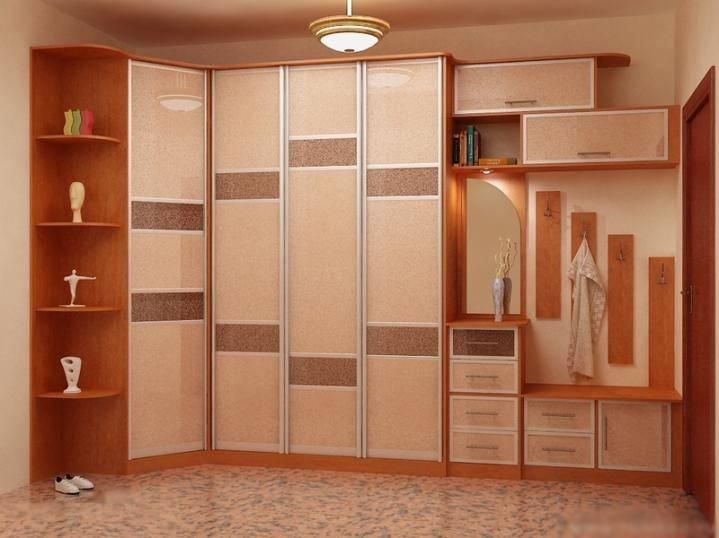 Встроенный шкаф в прихожую — 100 фото примеров современного дизайна и идей размещения
