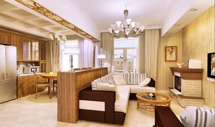 Кухня, совмещенная с гостиной: 107 фото и идеи дизайна интерьера
