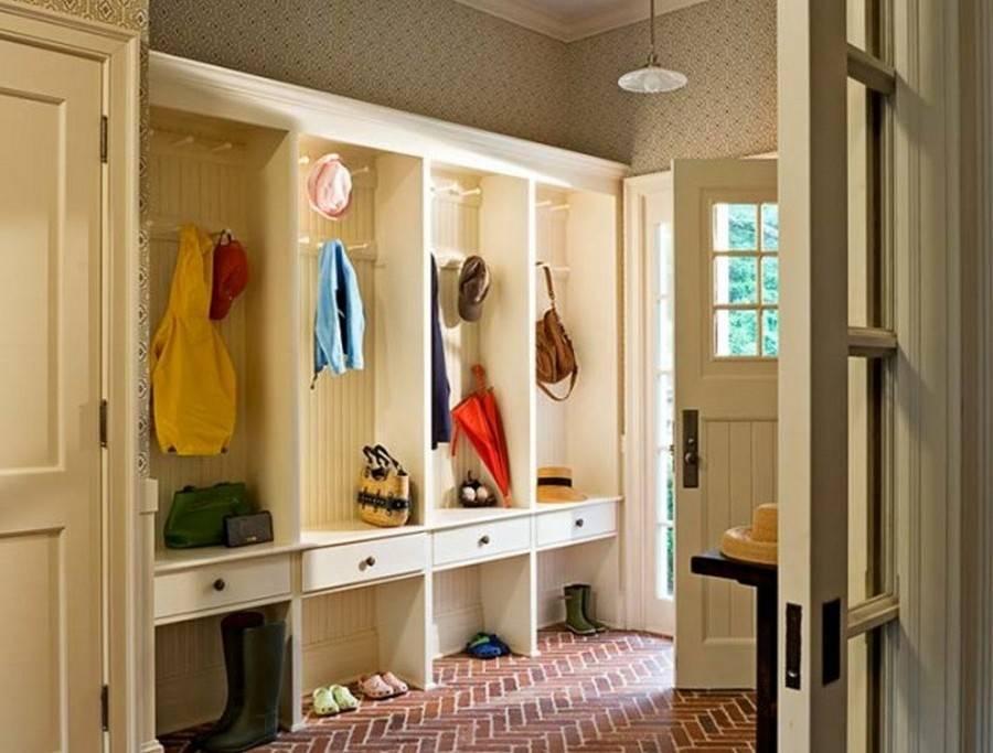 Хитрости дизайна прихожей в частном доме: обстановка и цветовые решения