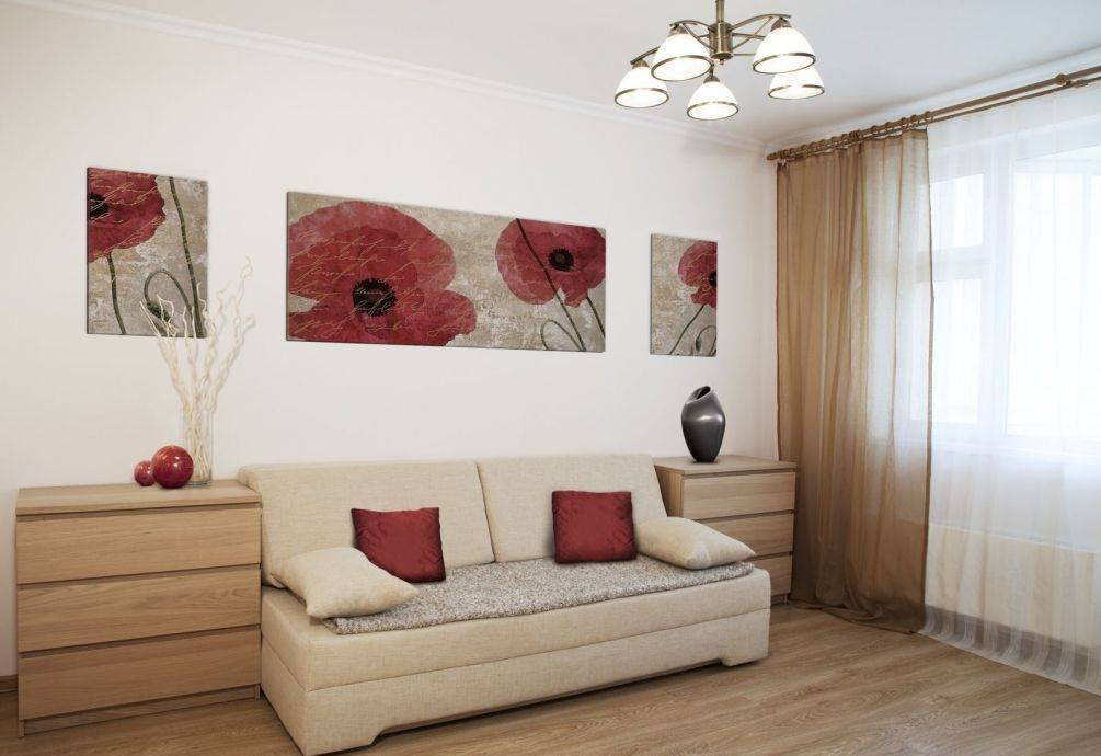 Картины на стену в интерьере гостиной: какие повесить над диваном в зале, как выбрать большие и длинные по горизонтали, фото