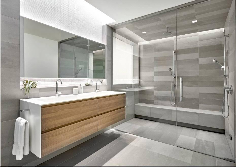 Большая ванная комната: идеи по оформлению комфортного интерьера (50 фото) | дизайн и интерьер ванной комнаты