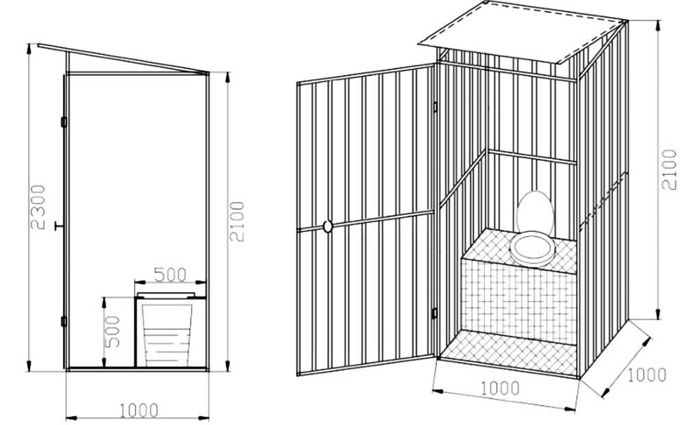 Дачный туалет своими руками: 130 фото рекомендаций как сделать кабинку
