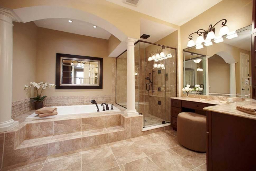 Дизайн интерьера ванной 4 кв. м — 100 фото идей модной и функциональной планировки