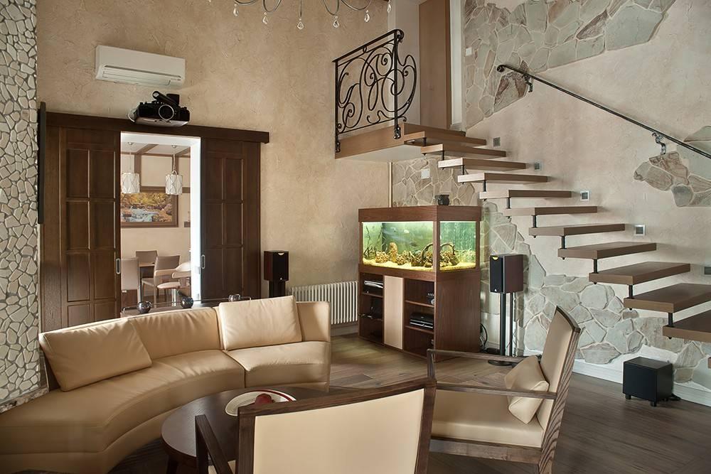 Лестница в доме на второй этаж: виды, дизайн красивого интерьера  - 27 фото