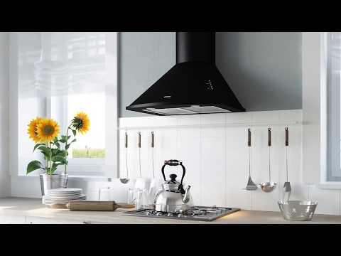 Встраиваемая вытяжка (79 фото): полновстраиваемая модель для кухни, размеры и установка кухонной конструкции