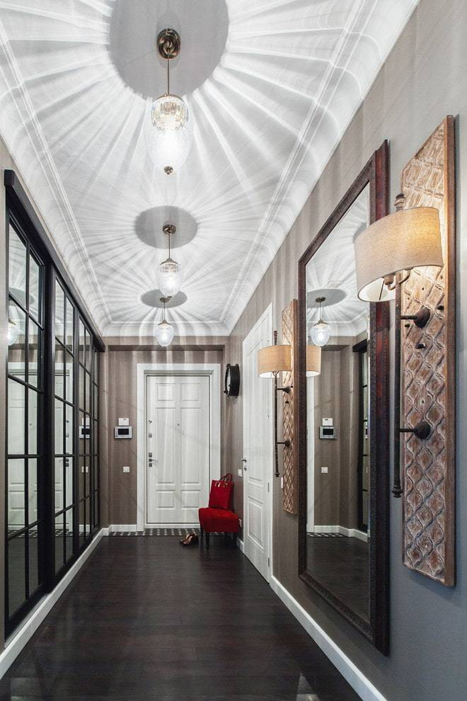 Как выбрать люстру в коридор - виды, форма и стиль, что выбрать ????