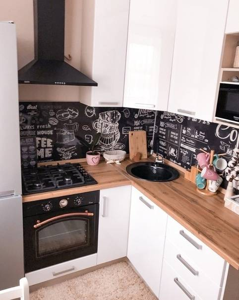 Дизайн кухни в хрущевке: 15 рабочих идей и 55 фото красивых интерьеров