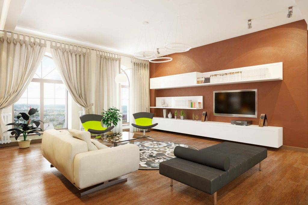 Маленькая гостиная (132 фото): стильные варианты дизайна, обзор модных идей оформления