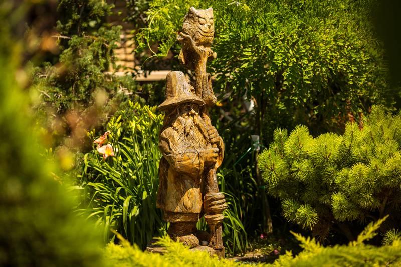 Садовая скульптура своими руками: идеи, мастер-класс